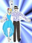 Ryan y Shar in Bop to the Top by AkaneZeen