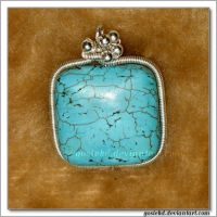 turquoise gift by gosiekd