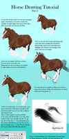 horse colouring tuto part 2. by Catcorpse