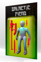 Galactic Fiend Dollar store toy by surrealdeamer