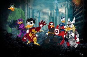 Duckvengers by Narya91