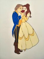 Belle and Adam by wiegand90