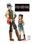 Ivan and Gail Adventures: Main Characters by RainbowNoodle