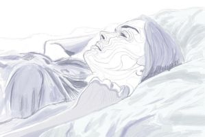 In Bed wip by little-everyday