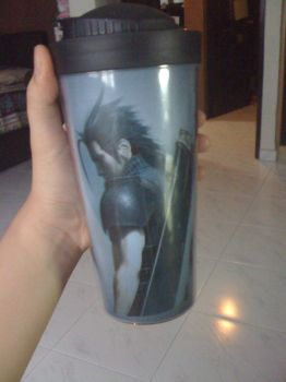 FFVII customised bottle 2 by a0it0m0e