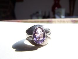 Amethyst ring 1 by seiyastock