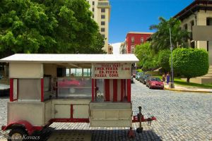 Pizza Stand by Libayne