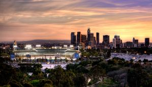 Dodger Stadium by deviantARTISTRY