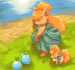 Vulpixies by LadyMurkrow