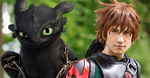 Hiccup And Toothless! How to Train Your Dragon 2 by lowlightneon