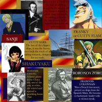 One Piece Historical Connections: Allies/ Nakama by elizabethober