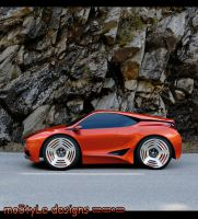 BMW M1 Toy Car by mo5tyle