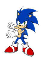 Scrapped Sonic by ThePandamis