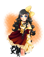 Sunset Lolita by crystalwings6