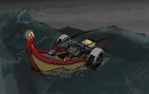 Boat by clearwater-art