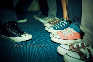 Chucks in line by robertsquall
