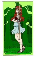 The archer card by Miss-Jose
