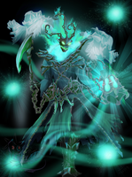 Thresh Digi-art entry by PrincessKilvas