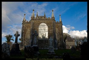 Kilbixy Church, Ireland II by fluffyvolkswagen