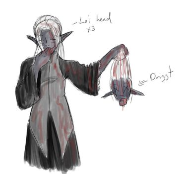 To all you Drizzt fans by CrystalSeraph