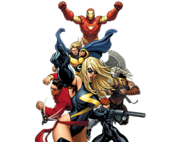 Mighty Avengers Render by Franky4FingersX2