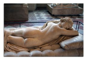 Hermaphroditus asleep1 by unclejuice