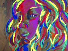 Curls of Color by Thorsini