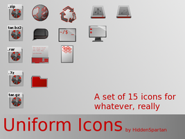 Uniform Icons by HiddenSpartan
