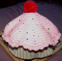 Cup Cake Hat by Craftcove