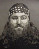 Duck Dynasty - Willie by Papergizmo