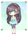 Mint Green Adoptable Giveaway (Winner) by mochatchi