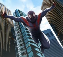 Ultimate Spiderman by WakeMusicAlarm