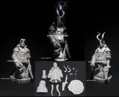 HELLBOY 1/6 MB by miguelzuppo