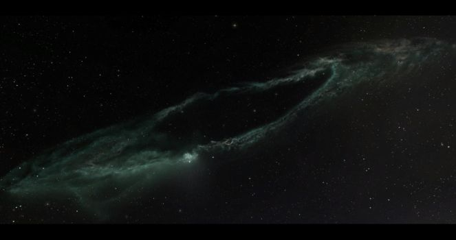 Distant Outer Ring Nebula by KittyHawks