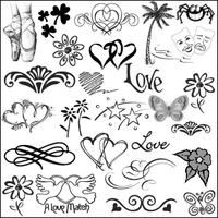 Icon Sized Decorations Psp8 by pinklilies