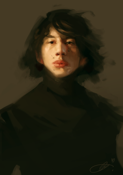 Kylo Ren ... again by jodeee