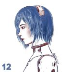 Rei Ayanami by luffie