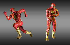 Injustice: Gods Among Us: Flash New 52 by iK1L73r