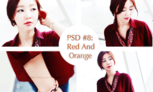 PSD Color #8 [Red and Orange] by ruachocodesigner