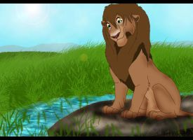 Father of nala and mheetu by coolrat