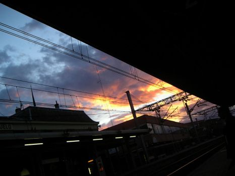 Next Train to Sky by miguew