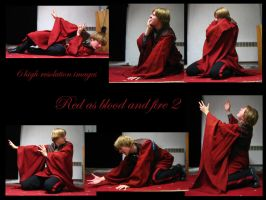Red as blood and fire 2 by Mithgariel-stock