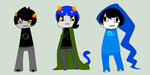 Homestuck Keychain Commissions by Suikasen