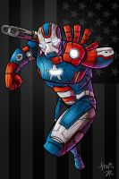 Iron Patriot by stayte-of-the-art