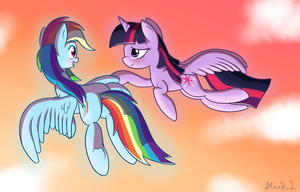 Let me teach you how to fly. by HankOfficer