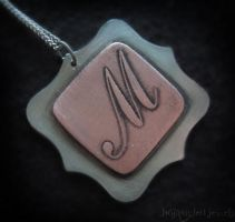 Initial Pendant by txgirlinaz