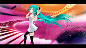 MMD - Miku Appearance WIM (Edited Ver.) by MikuHatsune01
