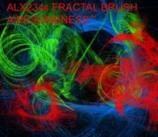 FRACTAL BRUSH PACK by brushpsd