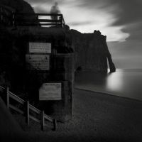 night in Etretat II by Kaarmen
