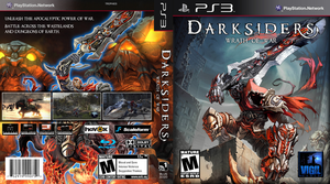 Darksiders: Wrath Of War box art 01 by FoeTwin